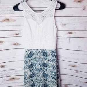 Maurices floral dress size 1/2